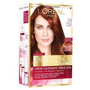L'Oréal Excellence Crème Reflets 5.6 Châtain Clair Auburn