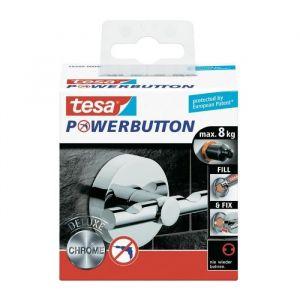 Image de Tesa Powerbutton Deluxe (Ø x T) 49 mm x 36 mm 59340