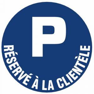 Novap Panneau parking reservé a la client