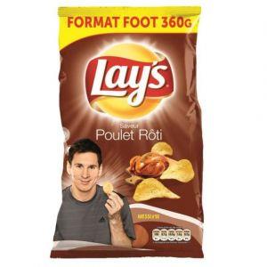 Lay's Chips poulet roti - Le paquet de 360g