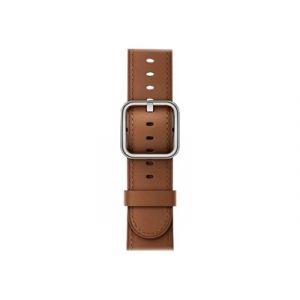 Apple 38mm Classic Buckle - Bracelet de montre marron selle pour Watch (38 mm)