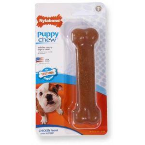 Nylabone Jouet à mâcher pour chiot puppy bone Taille S 11,5 cm