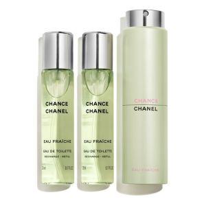 Chanel Chance Eau Fraîche - Eau de toilette pour femme - 3 x 20 ml