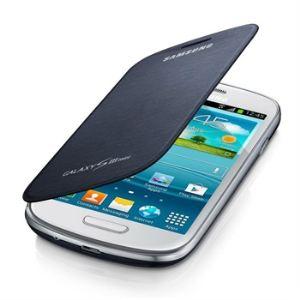 Samsung EFC-1M7FBEC - Mini Étui en cuir à rabat pour Galaxy S3
