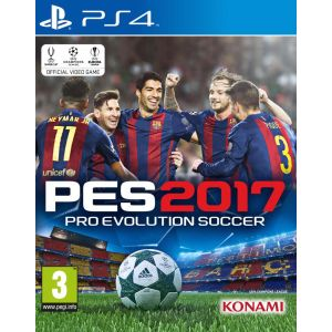 PES 2017 : Pro Evolution Soccer [PS4]