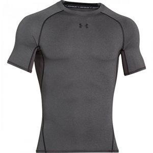 Under Armour Under Armour - Heat Gear T-Shirt - manches courtes - Homme - Gris (Carbon Heather) - Taille: M