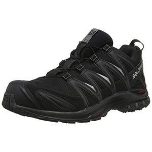 Salomon Homme XA Pro 3D GTX Chaussures de Trail Running, Imperméable, Noir (Black/Black/Magnet), Taille: 40