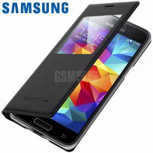 Samsung EF-CG800BB - Étui à rabat pour Galaxy S5 mini