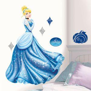 ROOMMATES Sticker géant Cendrillon Disney Princesse