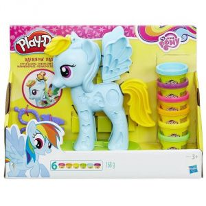 Hasbro Play-Doh My Little Pony Rainbow Dash Chevelure de rêve