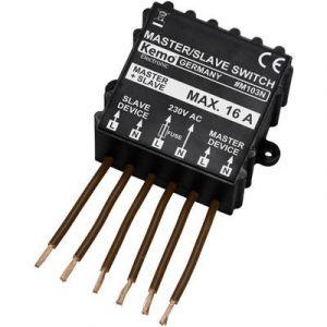 Kemo Commutateur maître-esclave (kit monté) M103N 230 V/AC 1 pc(s)