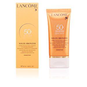 Lancôme Soleil Bronzer - Crème protectrice lissante et rafraîchissante SPF50