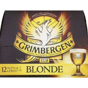 Grimbergen Blonde 12x25cl - 6,7% vol