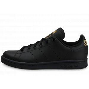 Adidas Originals Stan Smith Junior EU 37 1/3 Core Black / Core Black / Gold Metal - Core Black / Core Black / Gold Metal - EU 37 1/3