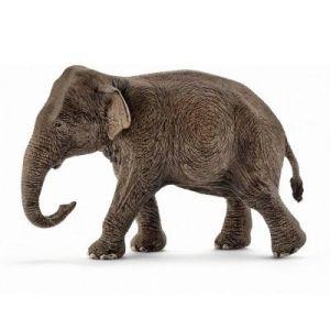 Schleich 14753 - Figurine éléphant d'Asie femelle