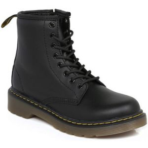 Dr. Martens Delaney, Boots mixte enfant - Noir (Black Softy T), 34 EU (2 UK)