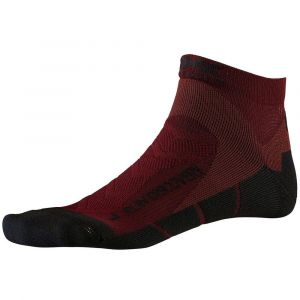 X-Socks Run Discovery Chaussettes course à pied Homme, dark ruby/opal black EU 45-47 Chaussettes de compression