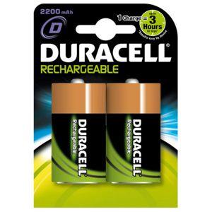 Duracell Rechargeable NiMH HR20 - Blister de 2