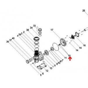 Procopi 598220 - Garniture mécanique de pompe Silencio et de pompe Tifon NM
