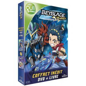 BEYBLADE BURST Coffret DVD + livre [Coffret DVD + Livre] [DVD]
