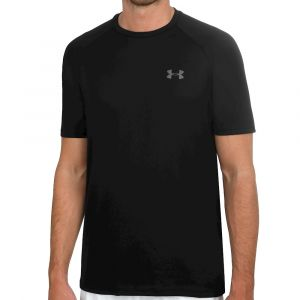 Under Armour UA Tech S/S Tee - T-shirt technique taille M - Regular, noir