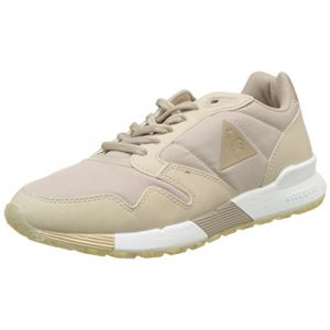 Le Coq Sportif Omega X W Metallic, Baskets Femmes, Beige (Moonlight), 38 EU