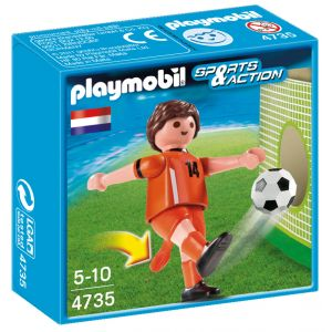 Playmobil 4735 - Joueur Équipe Pays-Bas