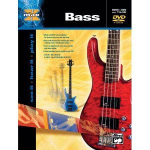 Alfred Music Publishing Harnsberger And Manus - Max Bass + Dvd - Bass Guitar