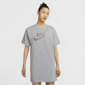 Nike Robe W NSW DRESS FT M2Z - Couleur S,M,L,XL,XS - Taille Gris