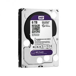 "Western Digital WD60PURX - Disque dur interne Purple 6 To 3.5"" SATA lll IntelliPower"