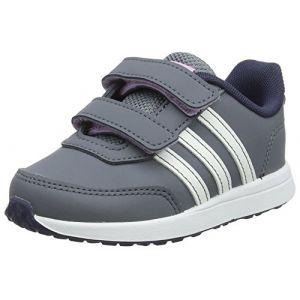 Adidas Vs Switch 2 CMF Inf, Sneakers Basses bébé garçon, Multicolore (Onix/Clowhi/Trablu B76060), 25 EU
