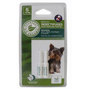 Vitalveto Pipettes insectifuges Bio contrôlé Edencert - Pour petit chien
