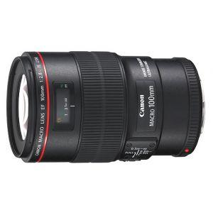 Canon 3554B005AA - Macro-objectif - 100 mm - f 2.8 L Macro IS USM