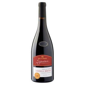 Cellier Des Dauphins Signature Vieilles Vignes Côtes du Rhône - Vin rouge des Côtes du Rhône - Cellier Des Dauphins Signature - Vieilles Vignes - Côtes du Rhône - Vin Rouge - 75 cl - AOC