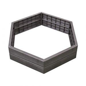 Garantia Carré potager Ergo - set de 6 parois - Pot, Jardinière en plastique