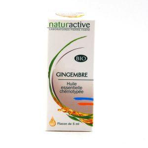 Naturactive Huile essentielle bio gingembre - 5 ml