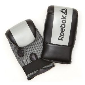 Reebok Sac de Frappe Gants d'entraînement de Boxe Mixte Adulte, Rouge/Noir
