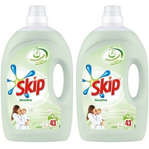 Skip Sensitive Lessive liquide Peaux sensibles & bébés 3,01 L - 43 lavages