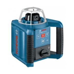 Bosch Professional Pack laser rotatif automatique GRL 300 HV + trépied BT 170 HD + mire GR 240