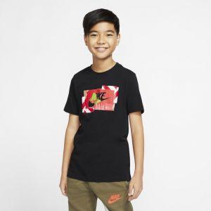 Nike Tee-shirt Sportswear - Noir - Garçon - Taille XS