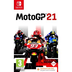 Moto Gp 21 Code In Box (Nintendo Switch) [Switch]