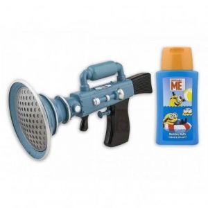 Coffret gel douche 125 ml avec pistolet à eau Minions