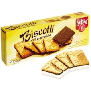 Dr Schär Biscuits nappés de chocolat (150g)