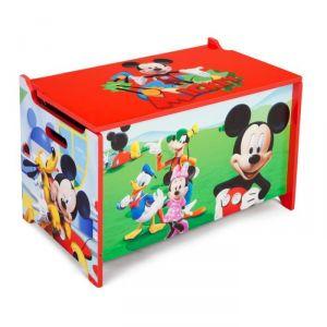Delta Children Coffre à jouets Mickey en bois