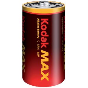 Kodak 2 piles alcalines C LR14 1.5V Max
