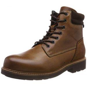 Tommy Hilfiger Active Leather Combat Boots (FM0FM01774) winter cognac