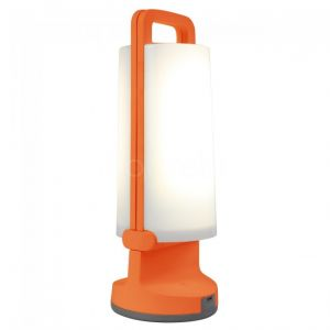 Lutec Lampe de table solaire LED Dragonfly 1.2 W blanc froid orange