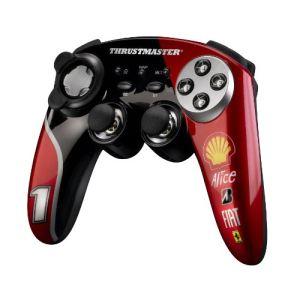 ThrustMaster F1 Wireless Ferrari F60 - Manette de jeu sans fil pour PS3 et PC