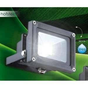 Globo Lighting Projecteur de façade Globo PROJECTEUR LED Anthracite, 1 lumière - Moderne/Jeune - Extérieur - PROJECTEUR