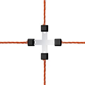 Ako Kit de réparation Connecteur de fil Litzclip
